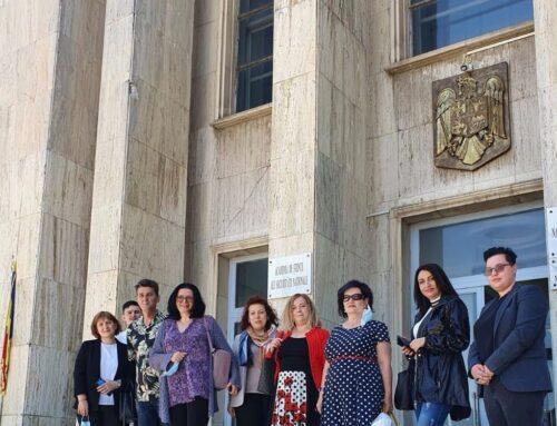 """12 mai 2021: Vizită de studiu în Regiunea București – Ilfov: Universitatea Natională de Apărare """"Carol I"""" din București"""
