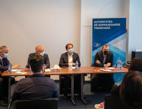 13 mai 2021: Vizită de studiu în Regiunea București – Ilfov: Autoritatea de Supraveghere Financiară