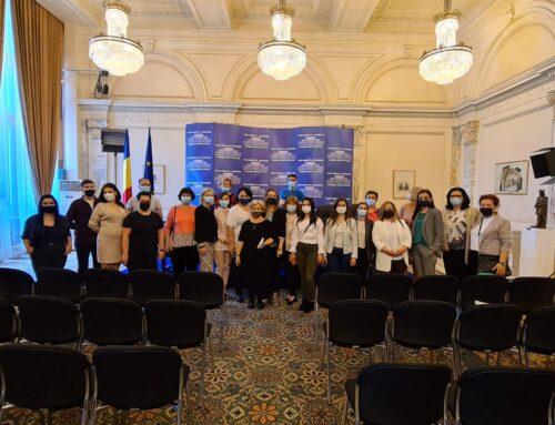 14 mai 2021: Vizită de studiu la Parlamentul României